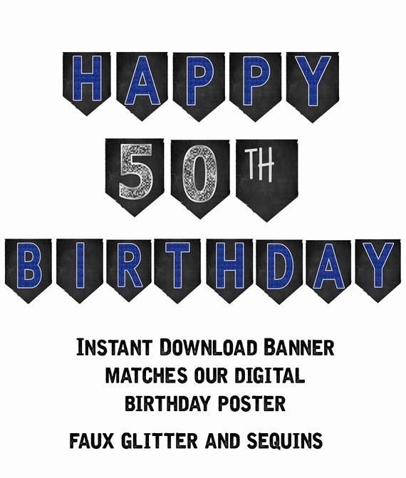 50th Birthday Banner Ideas Lovely 50th Birthday Banner 50th Birthday Party Decorations 50th