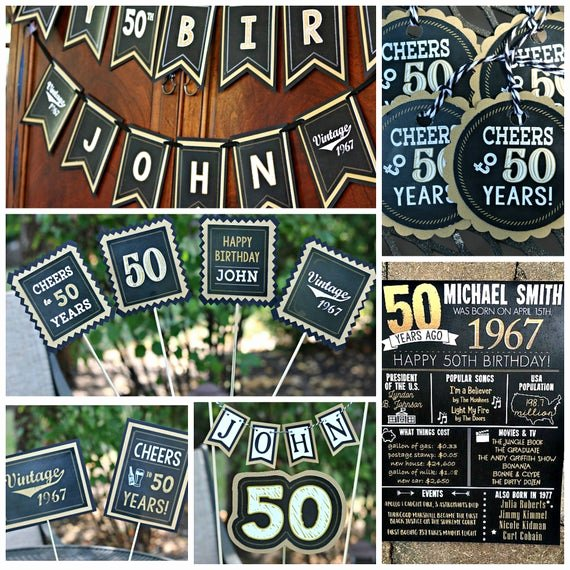 50th Birthday Banner Ideas Luxury 50th Birthday Party Decorations 50th Party Banner 50th