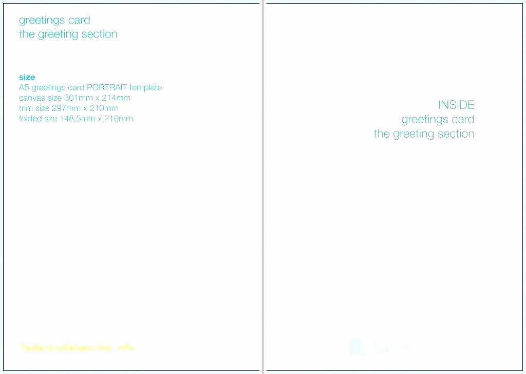 5x7 Folded Card Template for Word Beautiful 5×7 Greeting Card Template Élégant 5 7 Template Word
