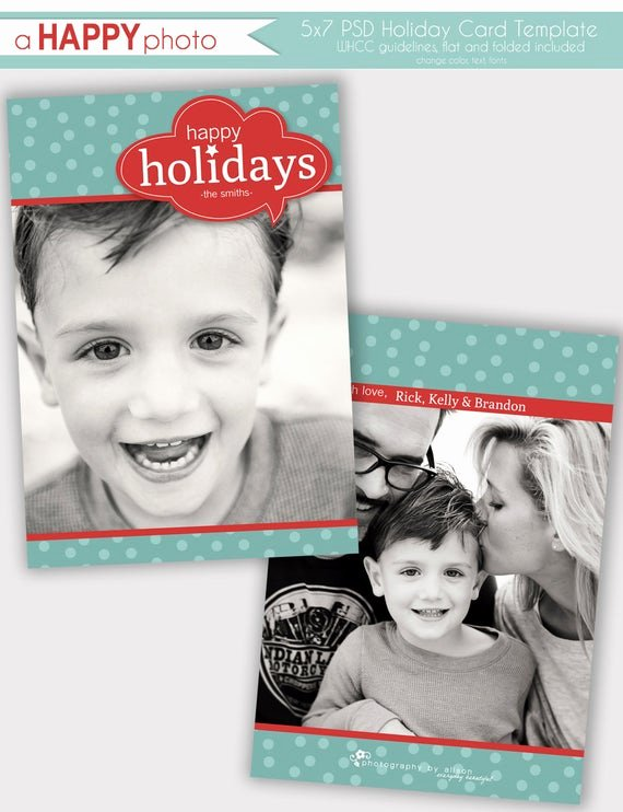 5x7 Folded Card Template for Word Lovely Items Similar to Word Bubble Holiday Card Template