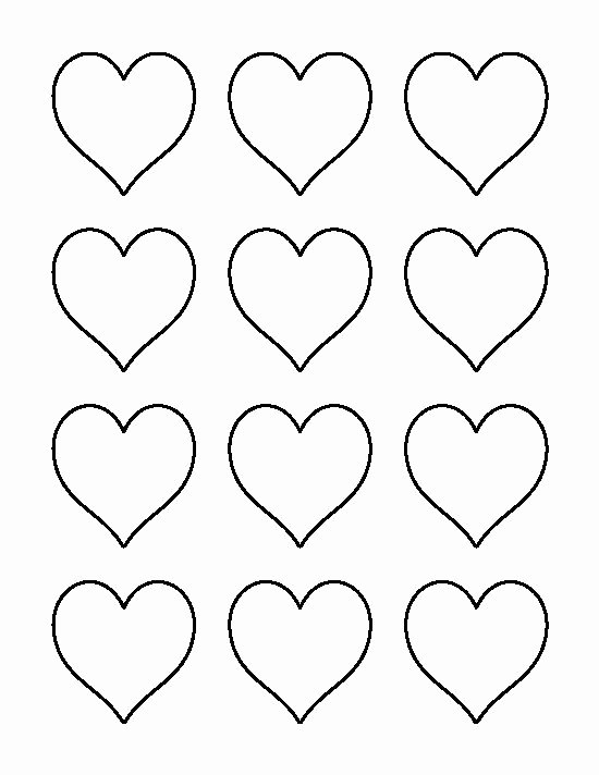 6 Inch Heart Template Elegant Best 25 Heart Template Ideas On Pinterest