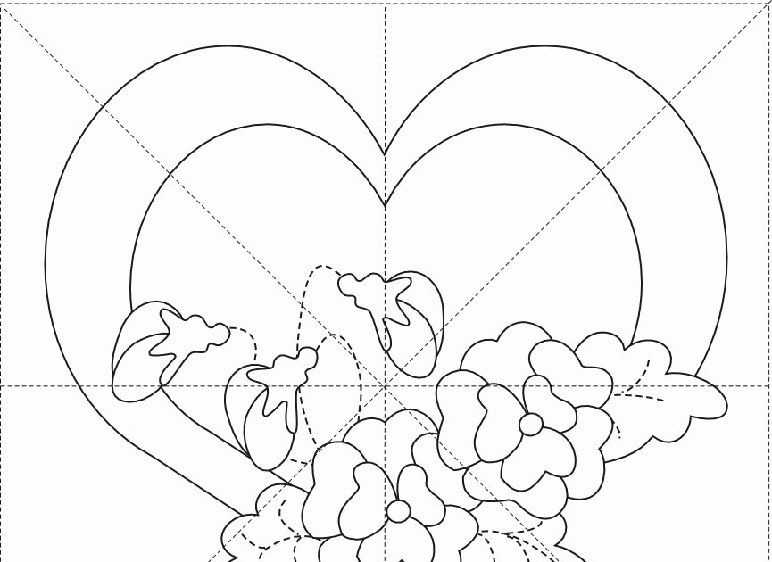 6 Inch Heart Template Elegant Peck S Pieces Romance Series Free Applique Pattern