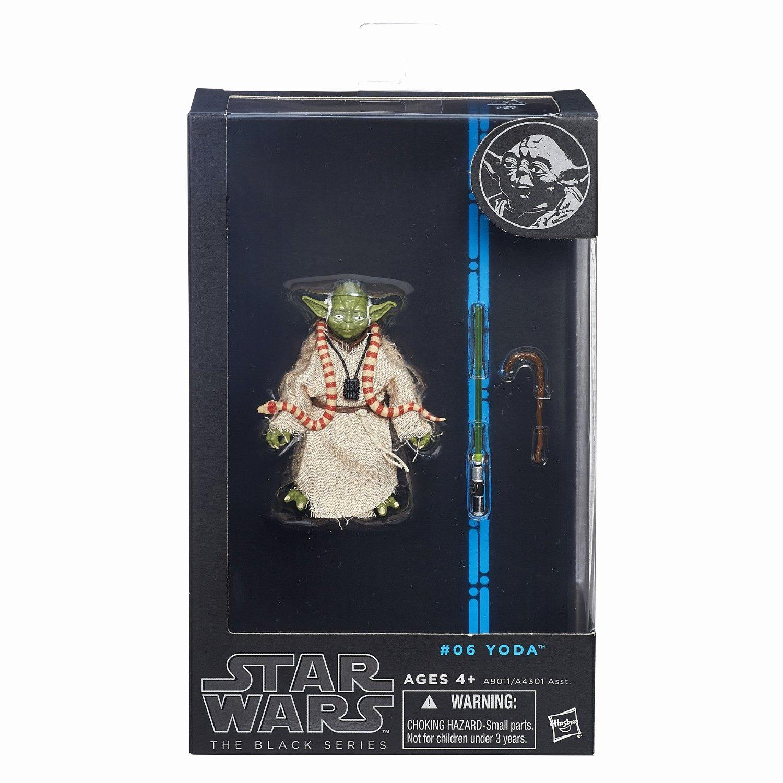 "6 Inch Star Fresh Star Wars Black Series 6"" Inch Figure 06 Yoda Jedi Master"
