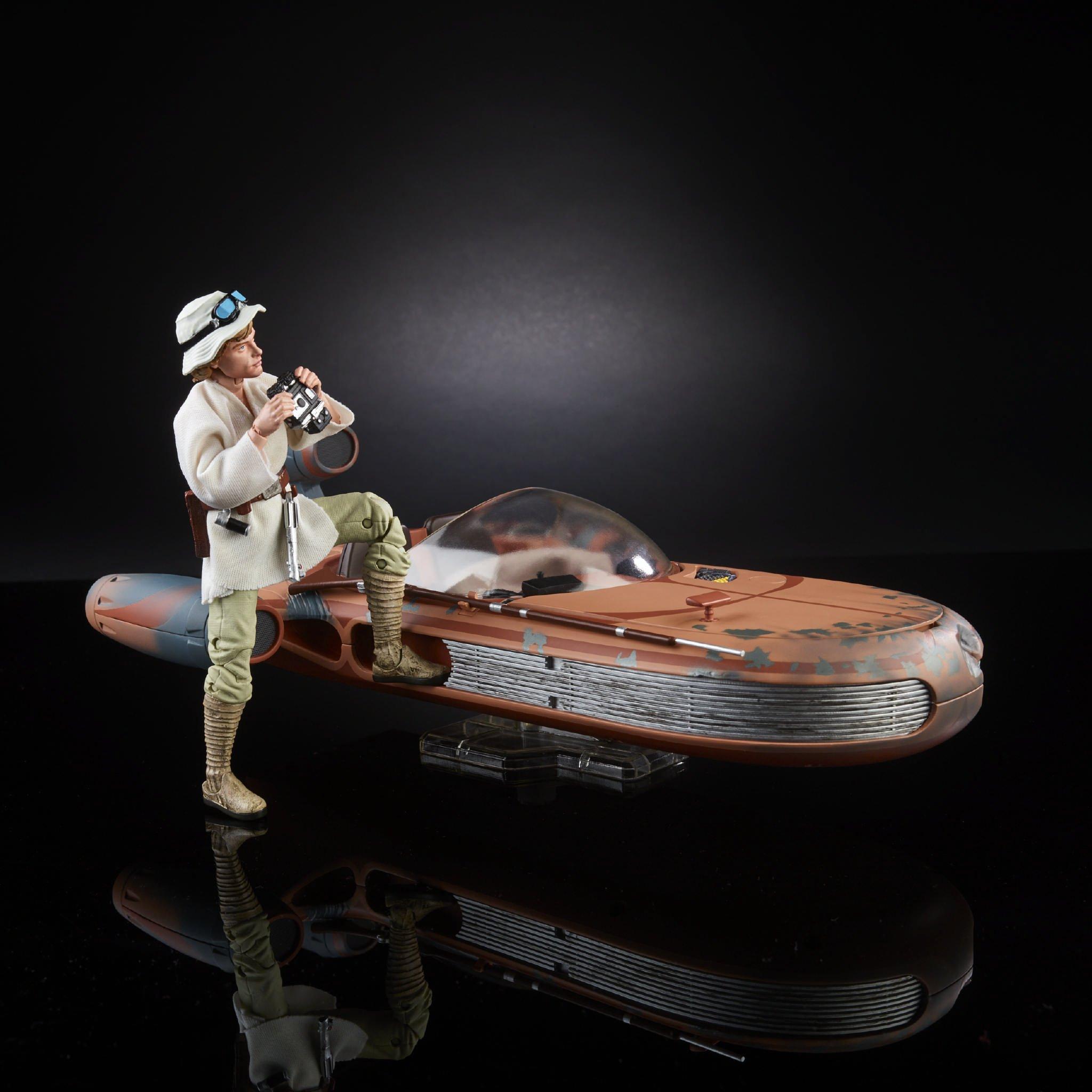 6 Inch Star Luxury Star Wars Black Series 6 Inch Luke Skywalker with
