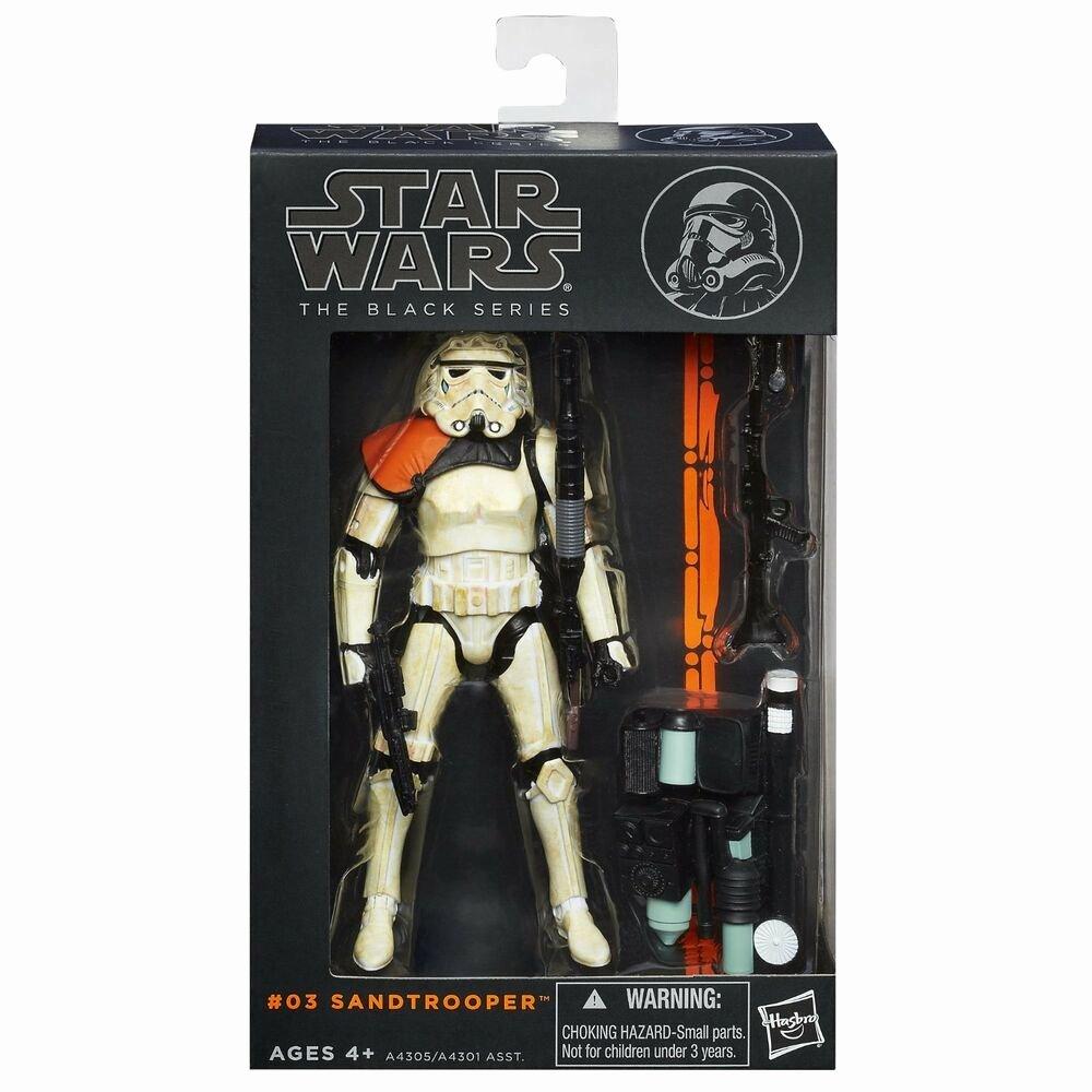"6 Inch Star New Star Wars Black Series Wave 1 03 Sandtrooper 6"" Figure"