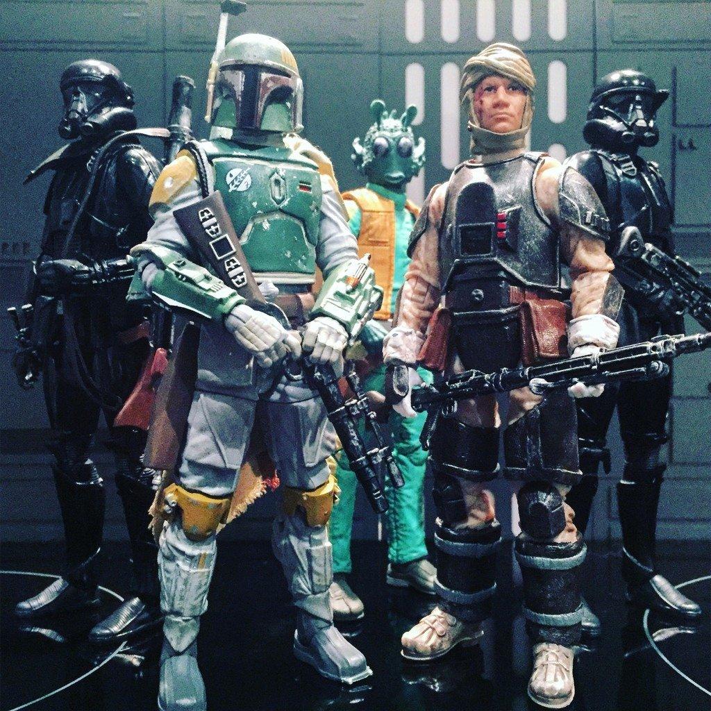 6 Inch Star New Star Wars Blackseries 6 Inch Custom Dengar