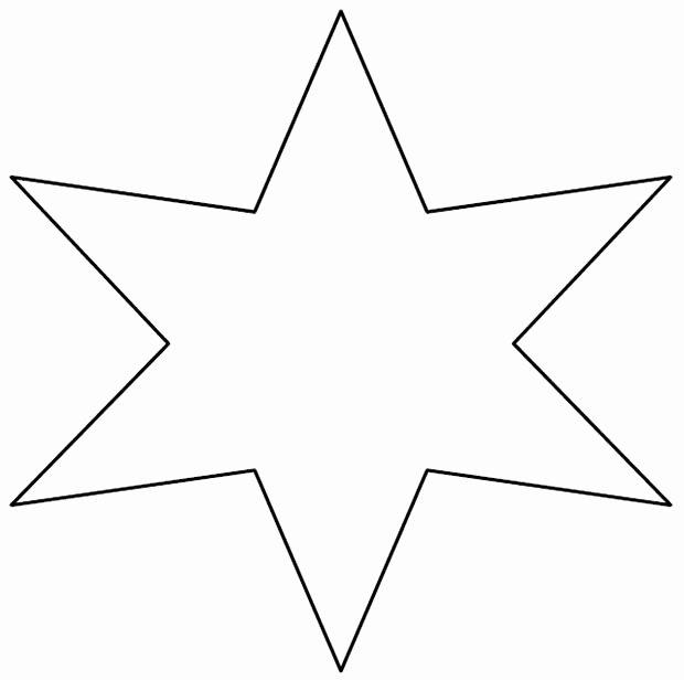 6 Inch Star Unique 6 Inch Star Template Invitation Template