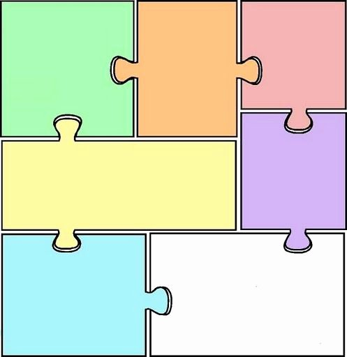 8 Piece Puzzle Template Awesome 17 Best Images About Puzle On Pinterest
