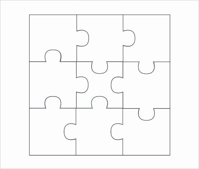 8 Piece Puzzle Template Beautiful 25 Best Ideas About Puzzle Piece Template On Pinterest