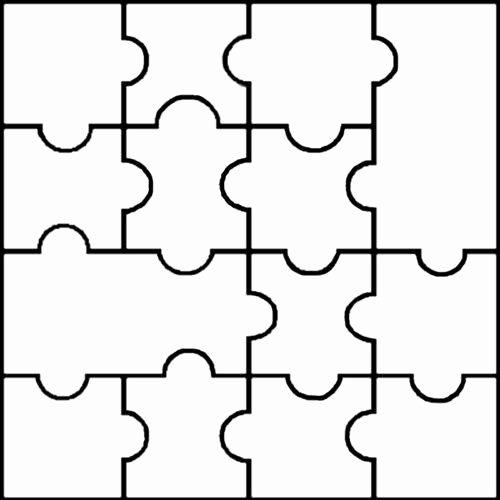 8 Piece Puzzle Template Fresh Best 25 Puzzle Piece Template Ideas On Pinterest