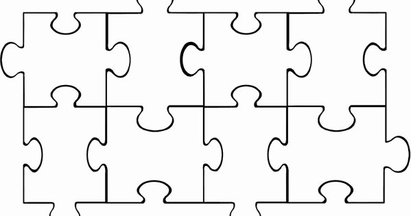 8 Piece Puzzle Template Lovely Puzzle Pieces Puzzle Piece Template and Puzzles On Pinterest
