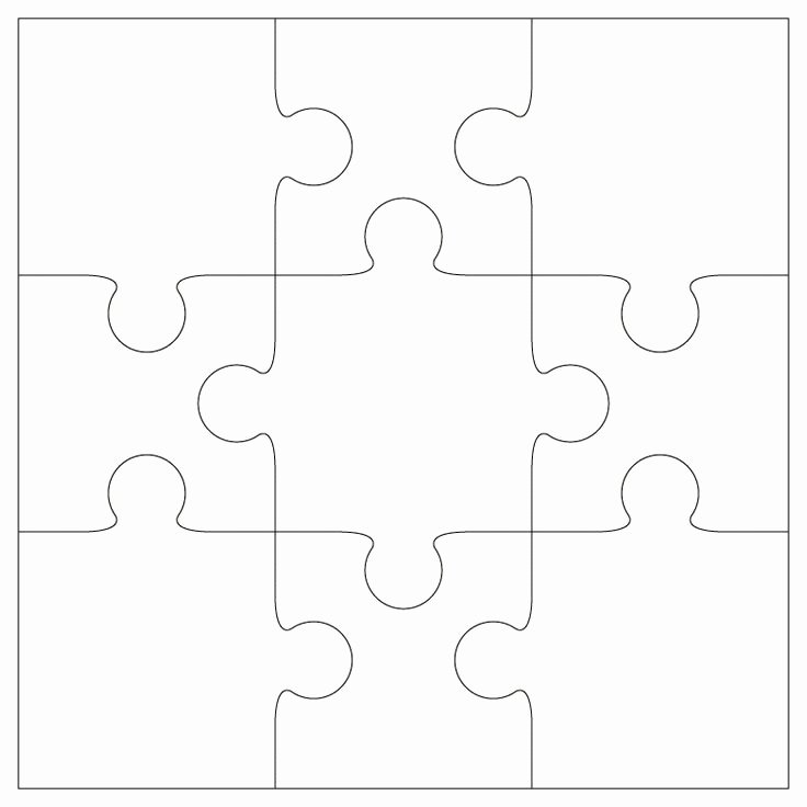 8 Piece Puzzle Template New 8 Best Puzzle Book Report Images On Pinterest