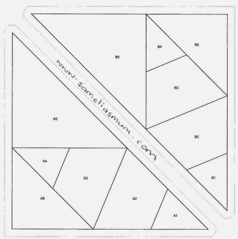 8 Point Star Template Best Of Scrappy 8 Point Star Block 30 52 Samelia S Mum