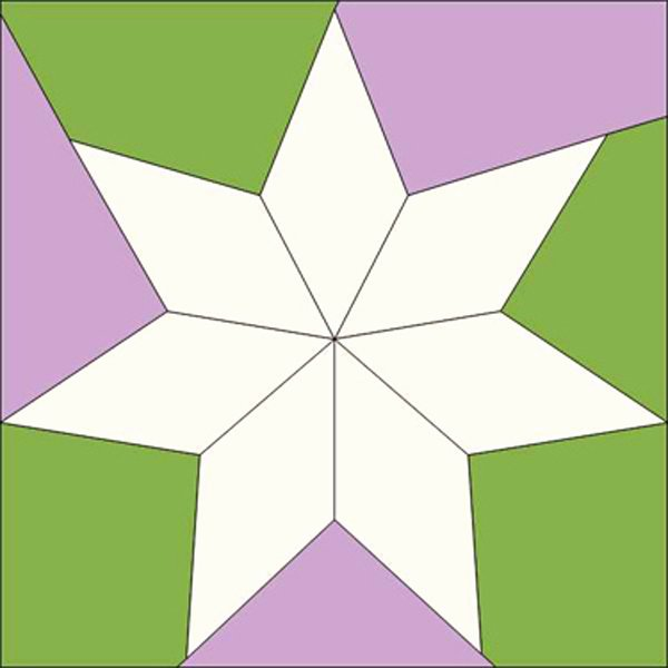 8 Point Star Template Lovely Grandmothers Choice Votes for Women 29 Seven Pointed