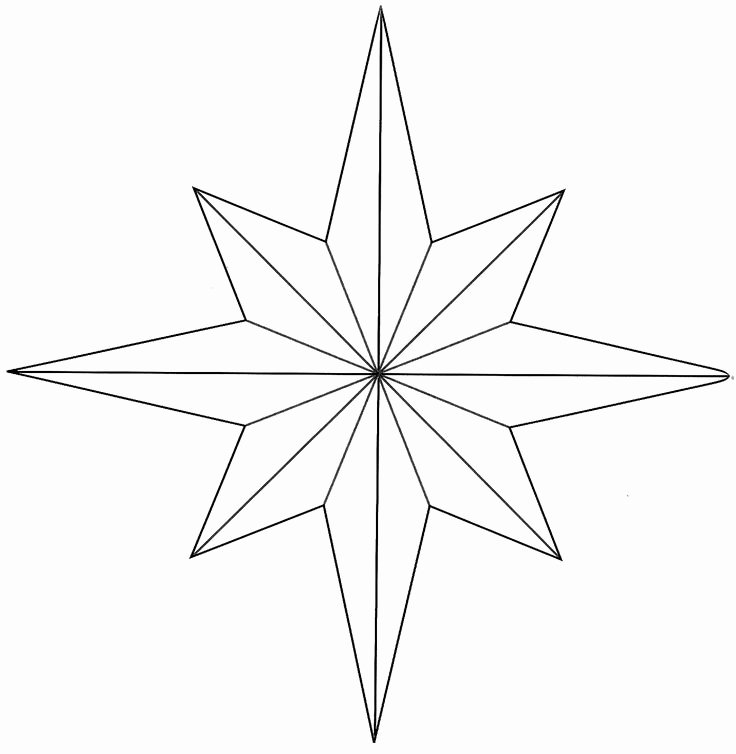 8 Point Star Template Luxury 27 Best Yang N Yin and Taoism Images On Pinterest