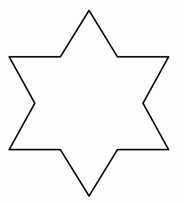 8 Point Star Template Printable Awesome 6 Point Star Template to Print Crafty Magic