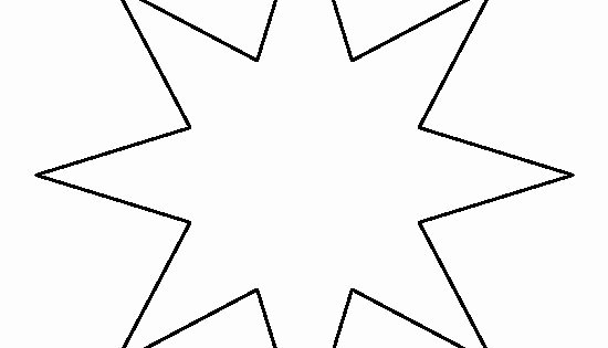 8 Point Star Template Printable New Eight Point Star Pattern Use the Printable Outline for
