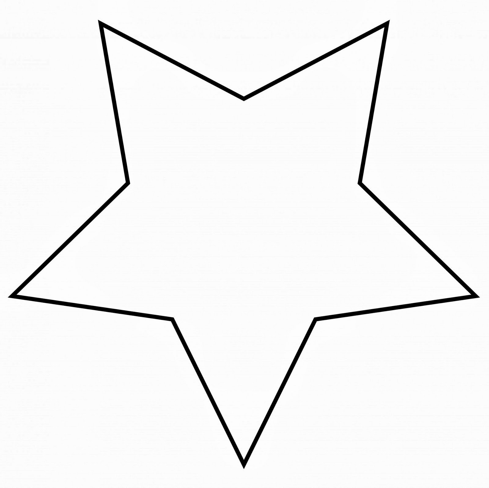 8 Point Star Template Printable Unique Star Template to Print Cliparts