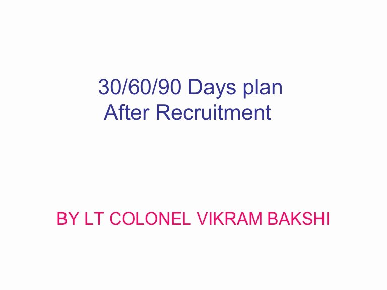 90 Day Goals Template Lovely 30 60 90 Days Plan to Meet Goals for New organization