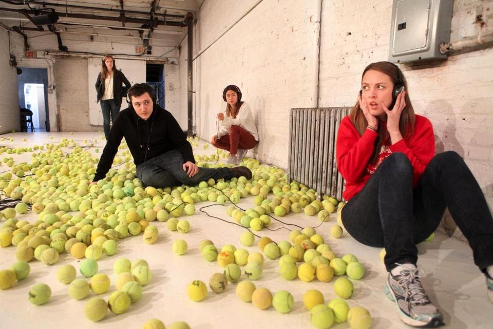 A Supposedly Fun Thing Summary Best Of the Words and the Tennis Balls Fly In 'a Radically