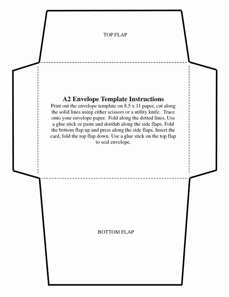 A7 Envelope Template Word Inspirational 5x7 Envelope Templates Ekariouq Paper Goods