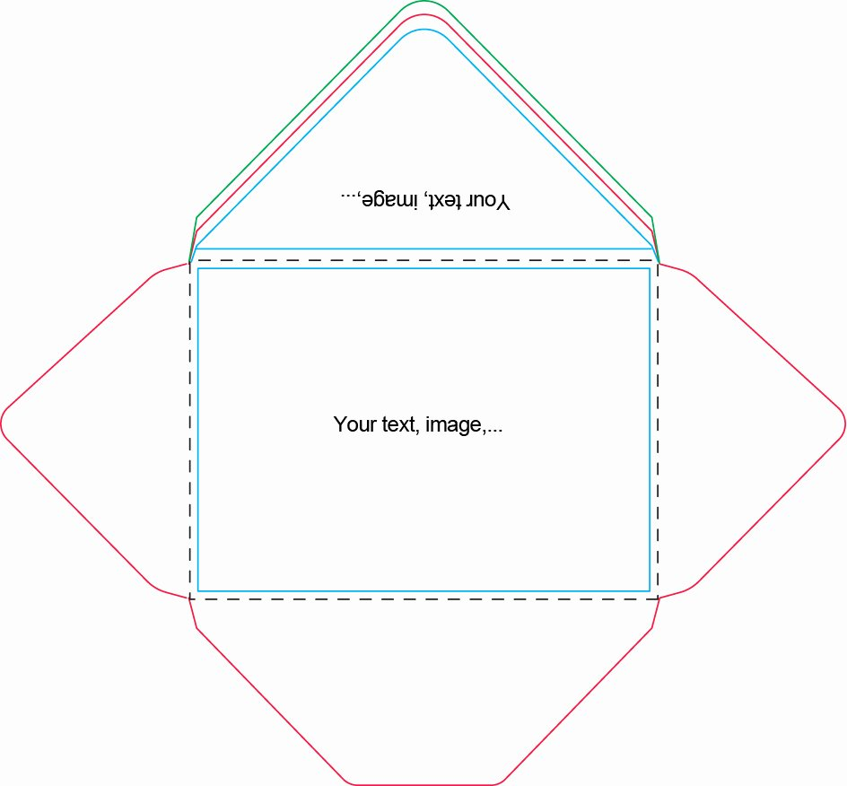 A7 Envelope Template Word Lovely A7 Envelopes Template Hashtag Bg