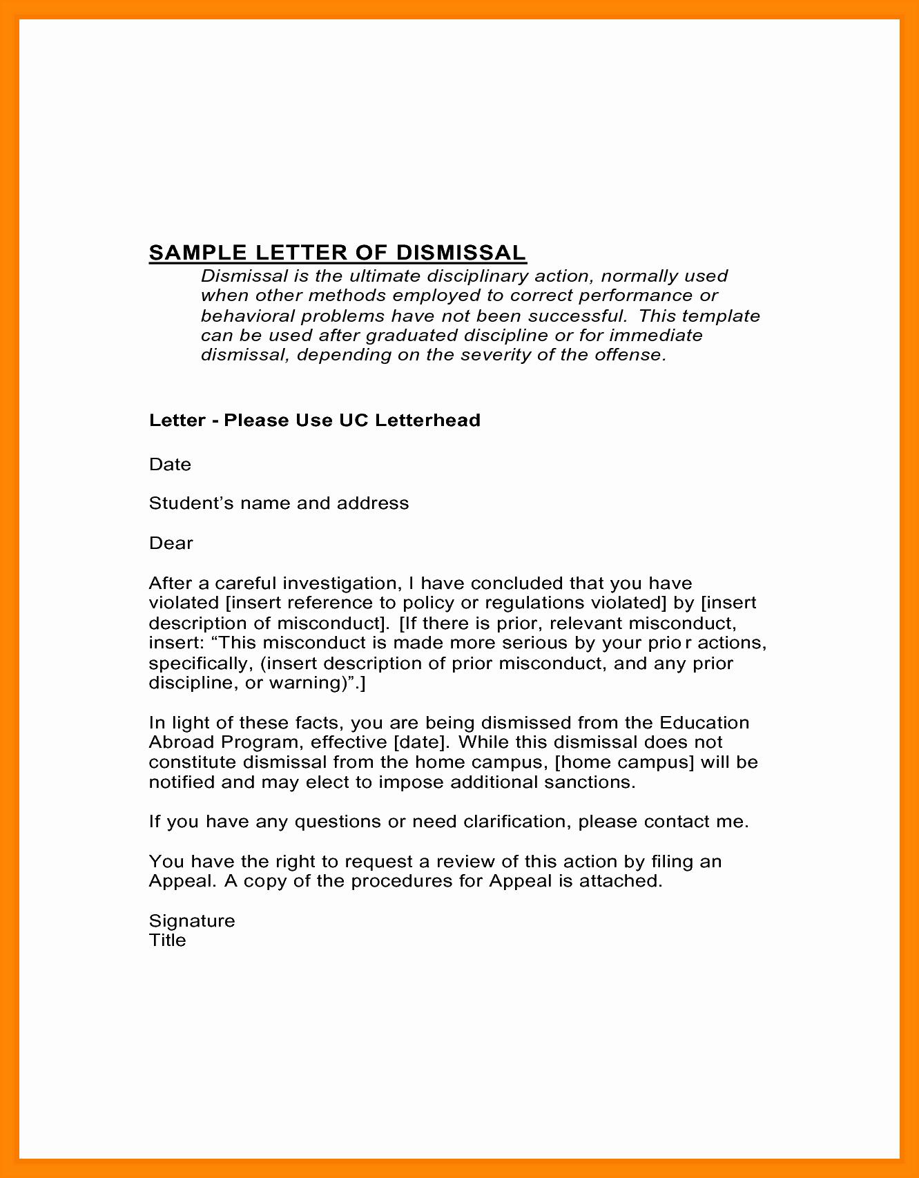Academic Appeal Letter Sample Best Of 10 Academic Suspension Appeal Letter Sample