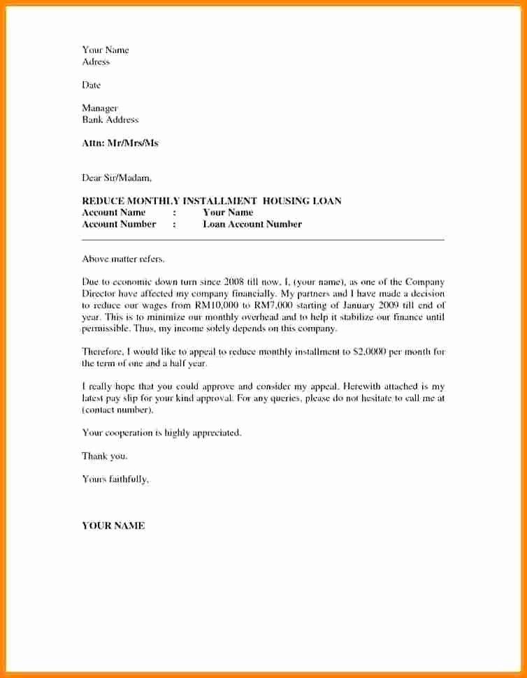 Academic Appeal Letter Sample Inspirational 12 Appeal Letter Sample for University