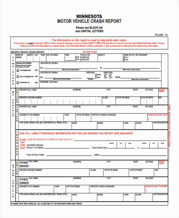 Accident Report form Pdf New 29 Accident Report forms In Pdf
