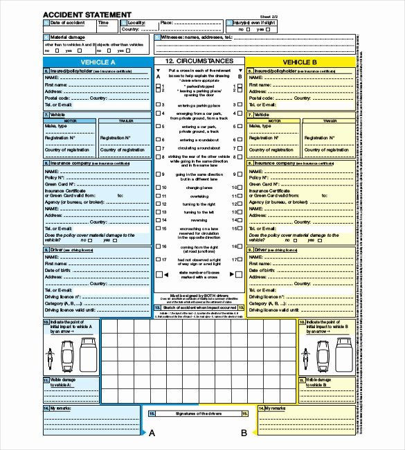 Accident Report Template Word Lovely 23 Sample Accident Report Templates Word Docs Pdf