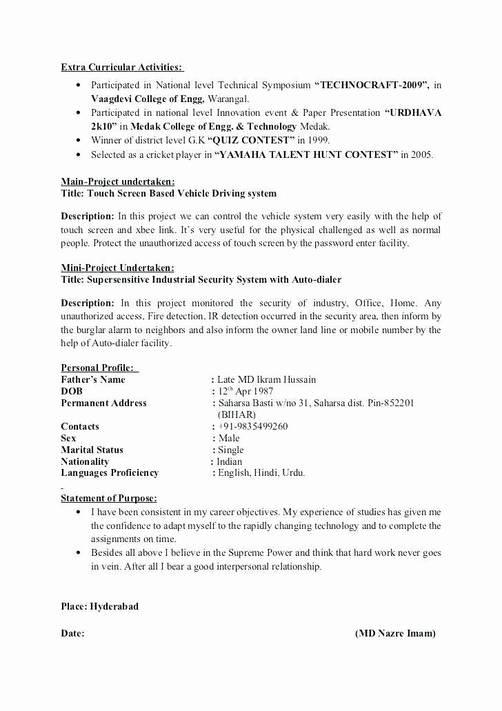 Activities Resume Template Best Of High School Activities Resume Template
