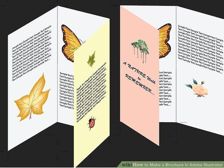 Adobe Illustrator Brochure Template Beautiful How to Make A Brochure In Adobe Illustrator 10 Steps