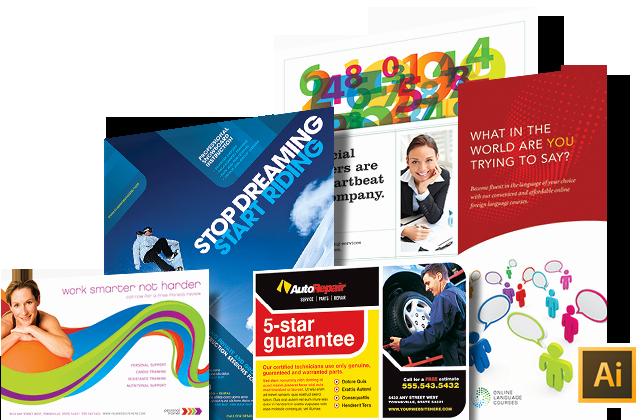 Adobe Illustrator Brochure Template Best Of Illustrator Templates