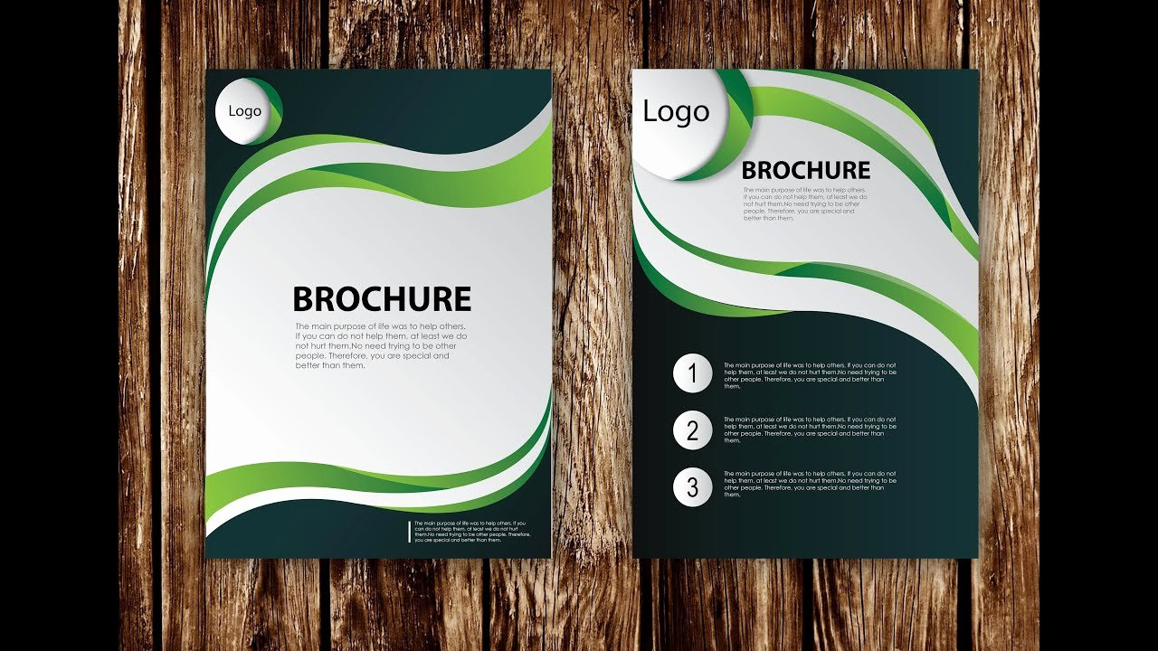 Adobe Illustrator Brochure Template Elegant How to Design Brochure Vector Using Adobe Illustrator