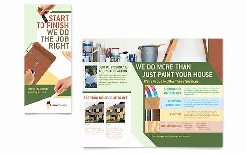 Adobe Illustrator Brochure Template Fresh Illustrator Templates Brochures Flyers