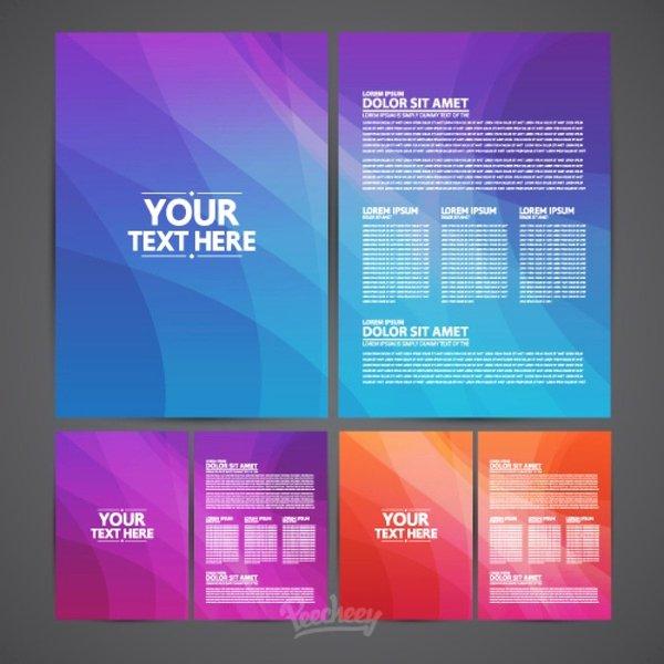 Adobe Illustrator Brochure Template Inspirational Brochures Template Free Vector In Adobe Illustrator Ai