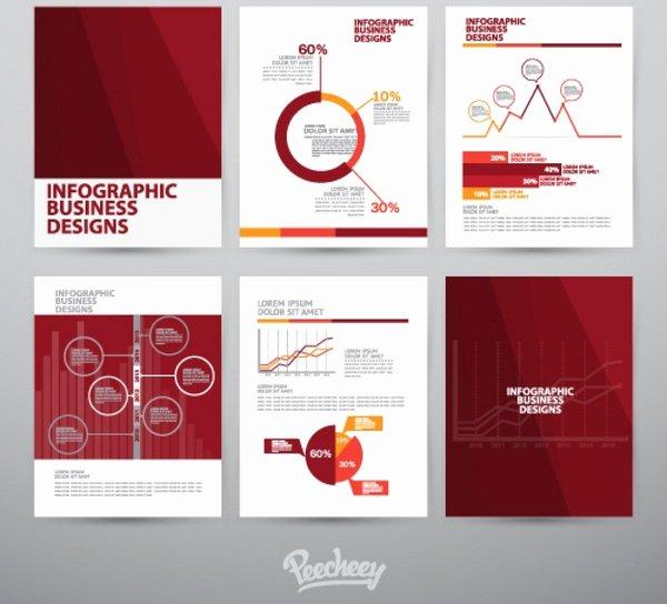 Adobe Illustrator Brochure Template Unique Brochure Template Free Vector In Adobe Illustrator Ai