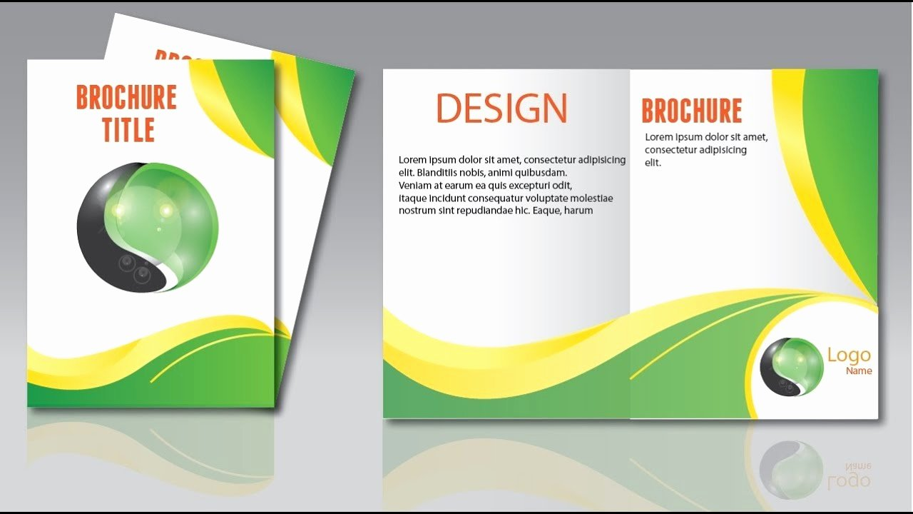 Adobe Illustrator Brochure Templates Inspirational Adobe Illustrator Brochure Design How to Create Simple