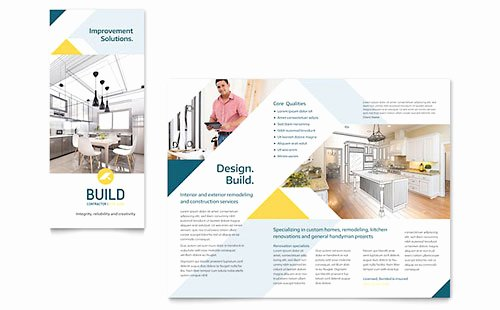 Adobe Illustrator Brochure Templates Lovely Illustrator Templates Brochures Flyers
