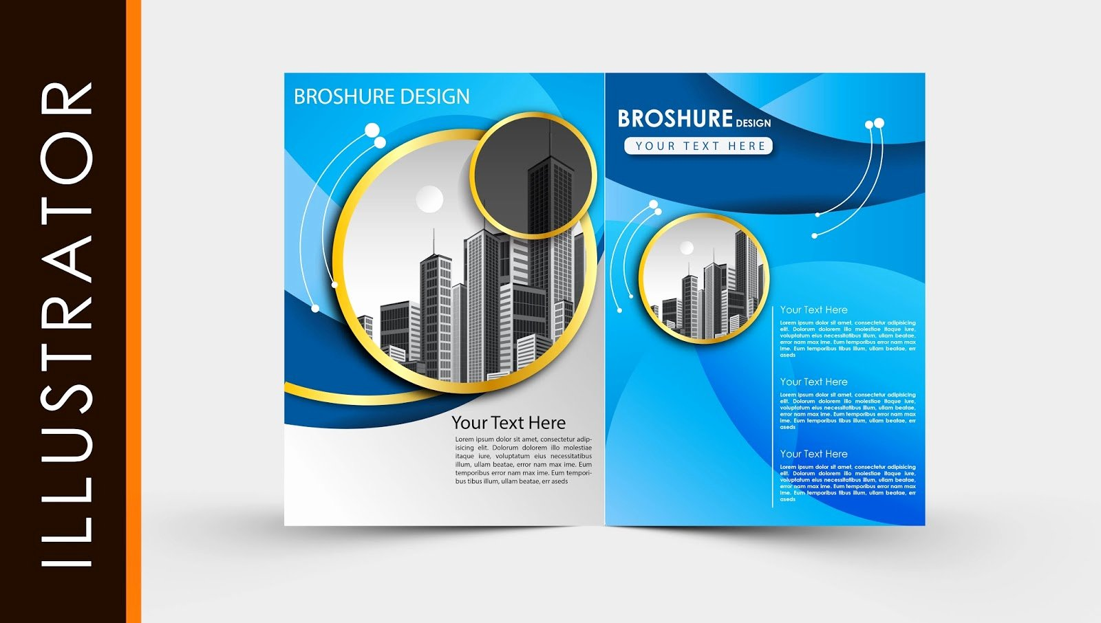 Adobe Illustrator Poster Template Best Of Free Download Adobe Illustrator Template Brochure Two Fold