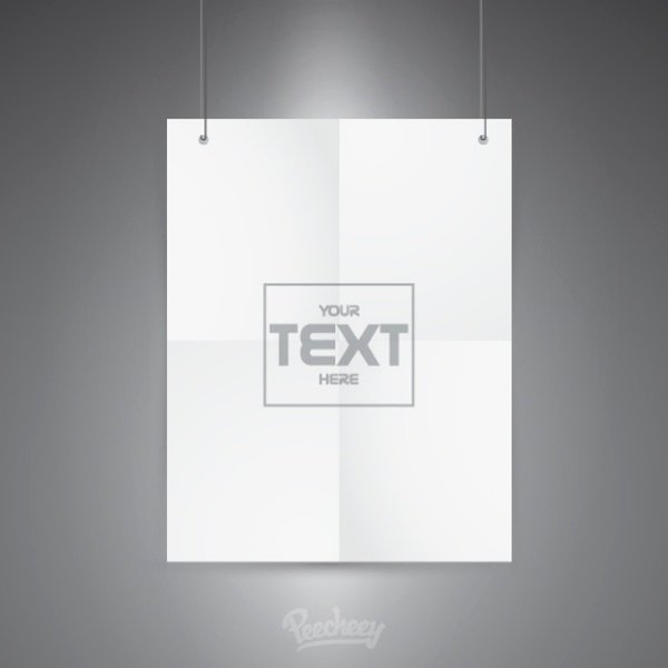 Adobe Illustrator Poster Template Elegant Blank Poster Template Free Vector In Adobe Illustrator Ai