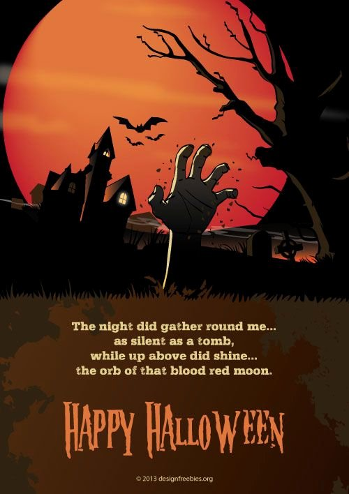 Adobe Illustrator Poster Template Fresh 2013 Halloween Treat Free and Exclusive Halloween Vector