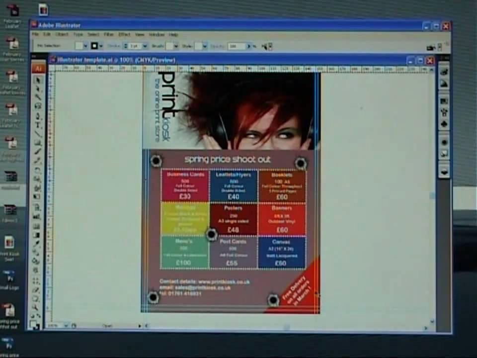 Adobe Illustrator Poster Template New Create A Flyer Template In Adobe Illustrator