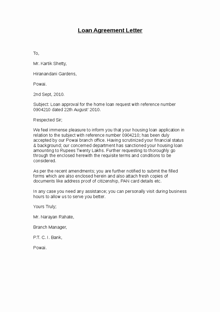 Advance Payment Agreement Letter Best Of Loan Agreement Letter Hashdoc Agreement Letter