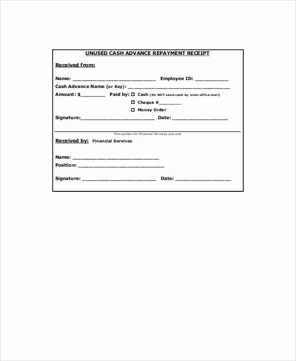 Advance Payment Agreement Letter New 7 Sample Advance Payment Receipts – Word Pdf