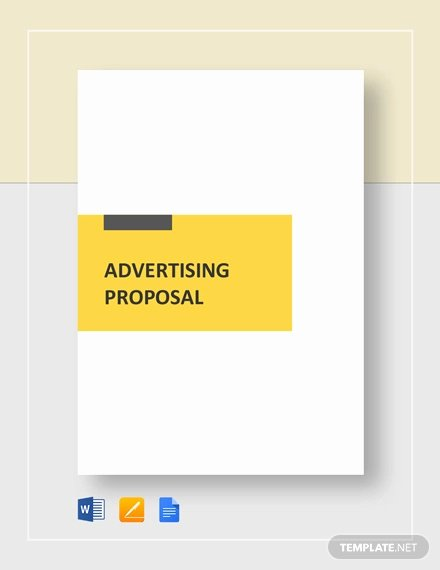 Advertisement Template Google Docs Beautiful 17 Advertising Proposal Templates Word Pdf Pages