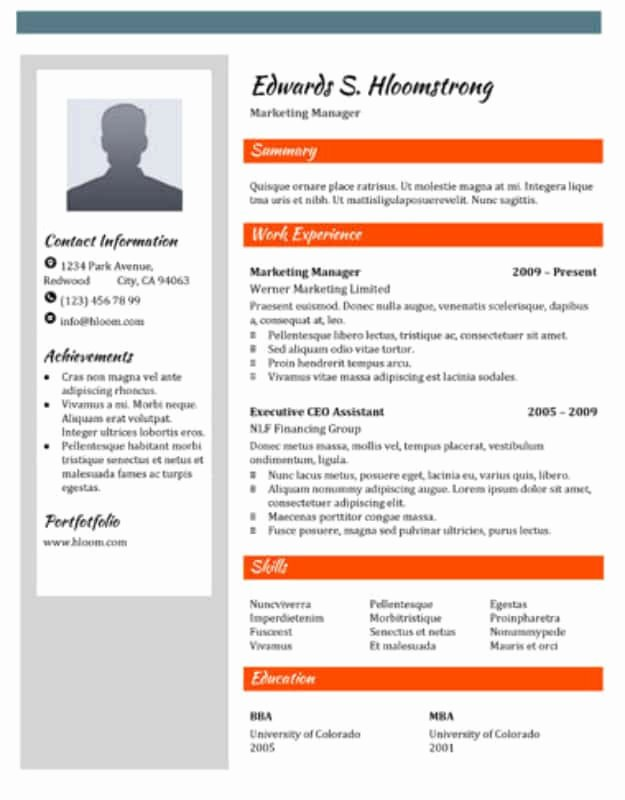 Advertisement Template Google Docs Elegant 29 Google Docs Resume Template to Ace Your Next Interview