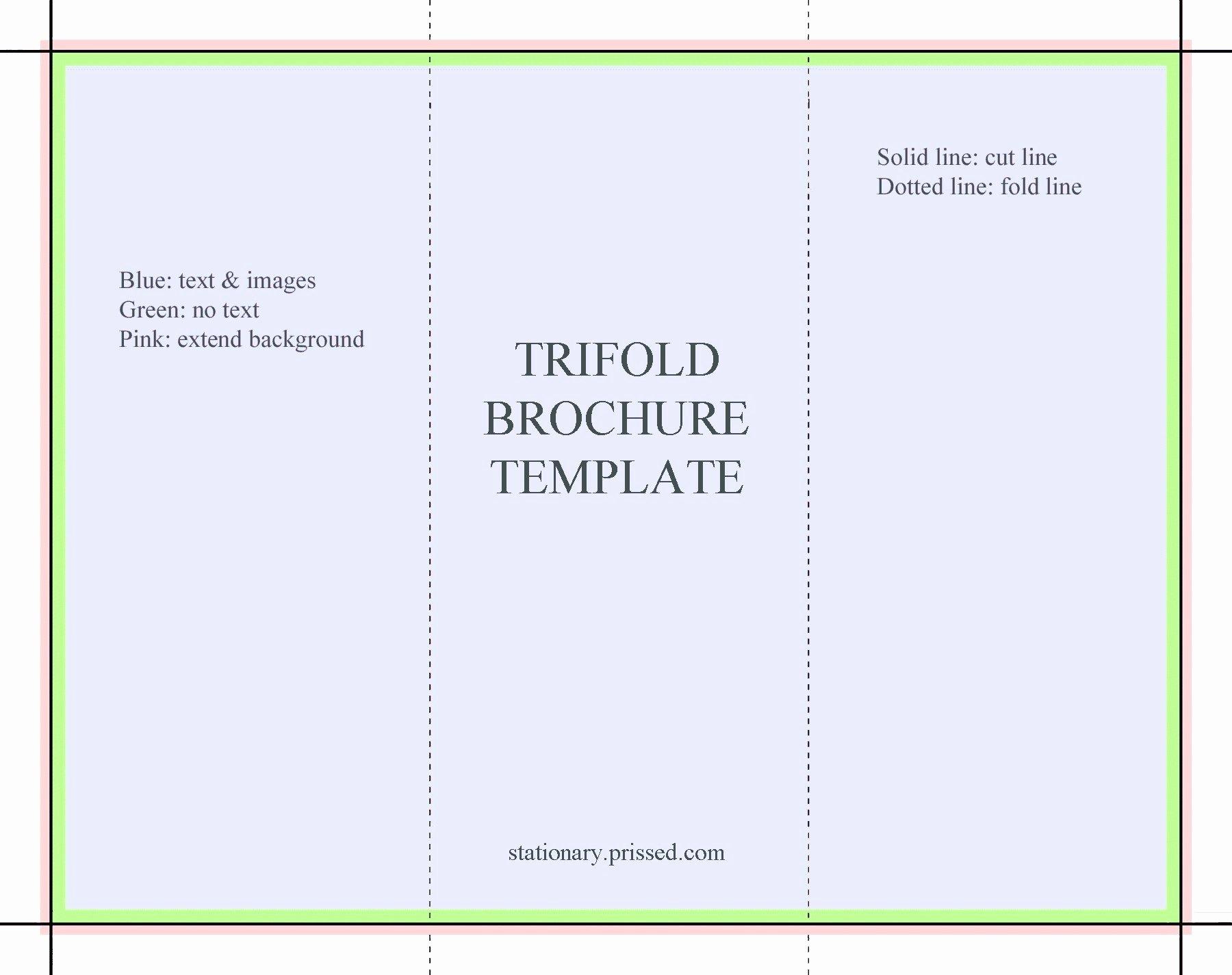 Advertisement Template Google Docs Unique Tri Fold Brochure Google Docs Template Reeviewer