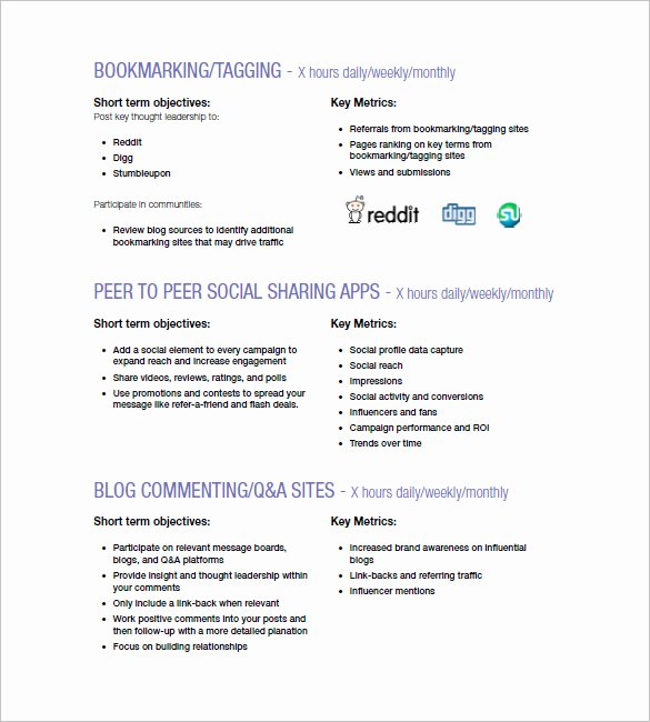 Advertising Campaign Template Elegant Marketing Campaign Plan Template 11 Free Sample