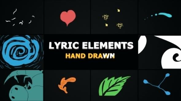 After Effects Lyric Video Inspirational after Effects Lyric Video Template